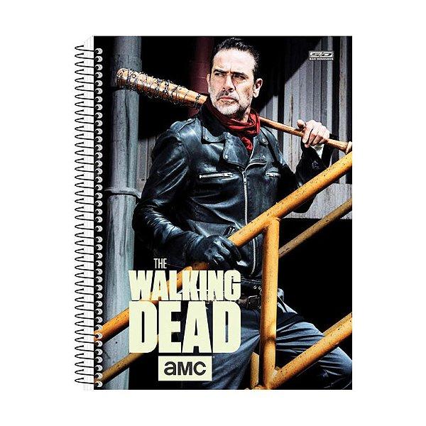 Caderno The Walking Dead - Negan - 10 Matérias - São Domingos