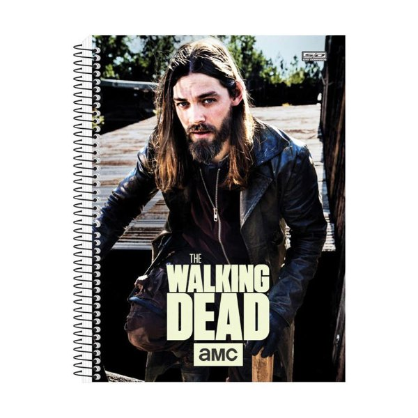Caderno The Walking Dead - Jesus - 10 Matérias - São Domingos