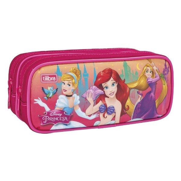 Estojo Duplo Princesas da Disney - Tilibra