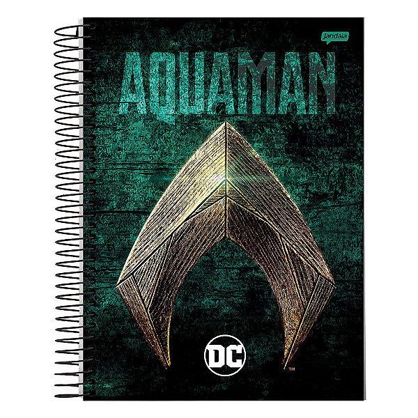 Caderno DC Comics - Aquaman - 10 Matérias - Jandaia