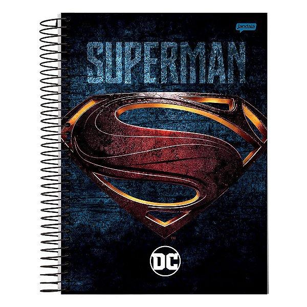 Caderno DC Comics - Superman - 10 Matérias - Jandaia