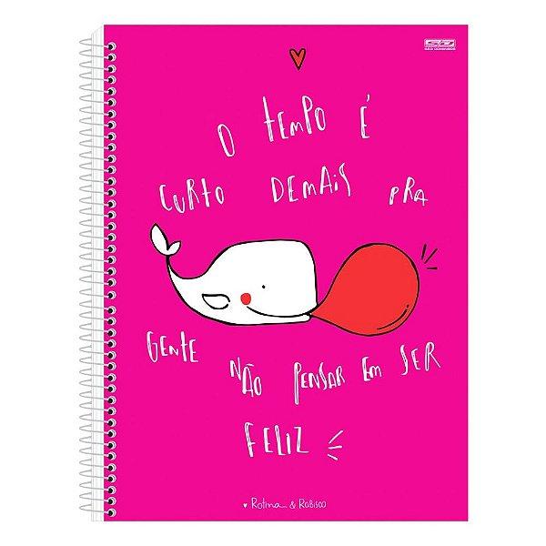 Caderno Rotina & Rabisco - Rosa - São Domingos