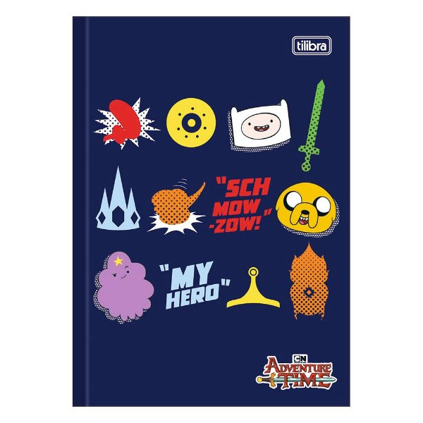 Caderno Brochura Adventure Time - Personagens - Tilibra