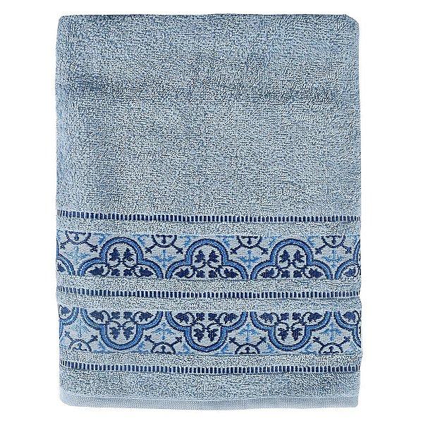 Toalha de Banho Coimbra - Azul - Karsten