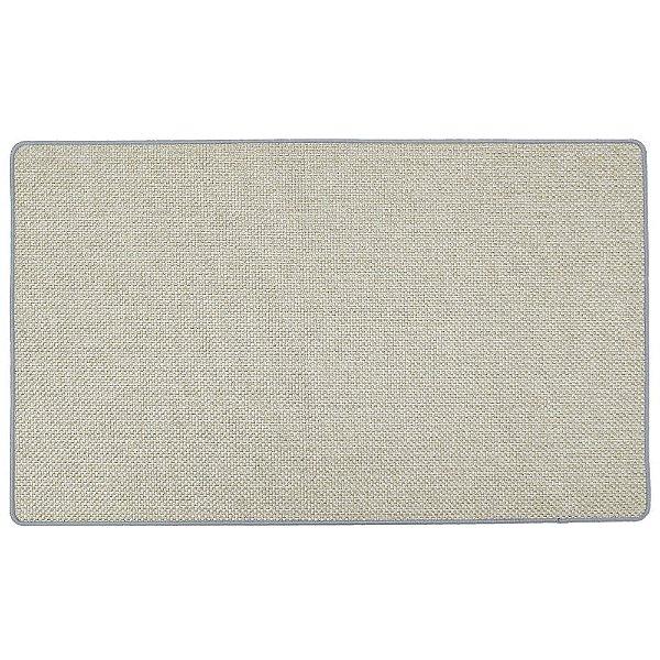 Tapete Easy 75cm x 45cm - Bege Texturizado - Via Star