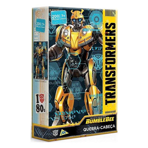 Quebra-Cabeça Transformers Bumblebee - 200 Peças - Jak