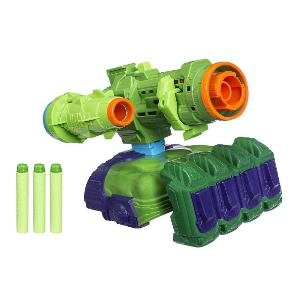 Nerf Lançador de Dardos Avengers Infinity War - Hulk - Hasbro