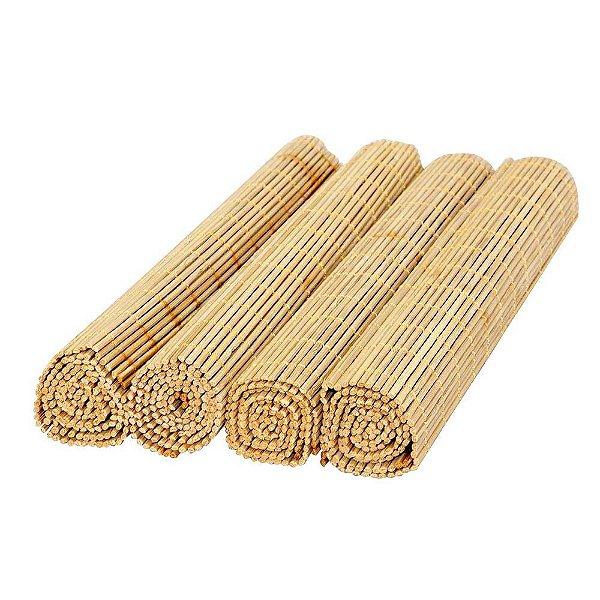 Jogo Americano em Bambu Cru - 4 Peças - Mimo Style
