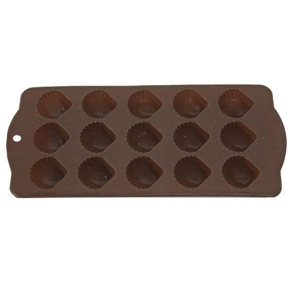 Forma de Silicone Cookstyle Concha - Marrom - Full Fit