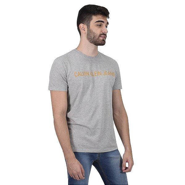 Camiseta Masculina Useful Mescla - Calvin Klein