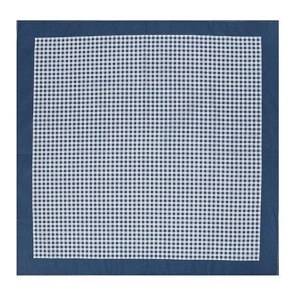 Toalha de Mesa Picnic Azul - 78 x 78 cm - Karsten