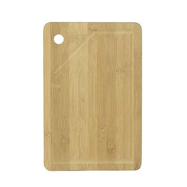 Tábua Retangular Para Churrasco de Bamboo - Mor