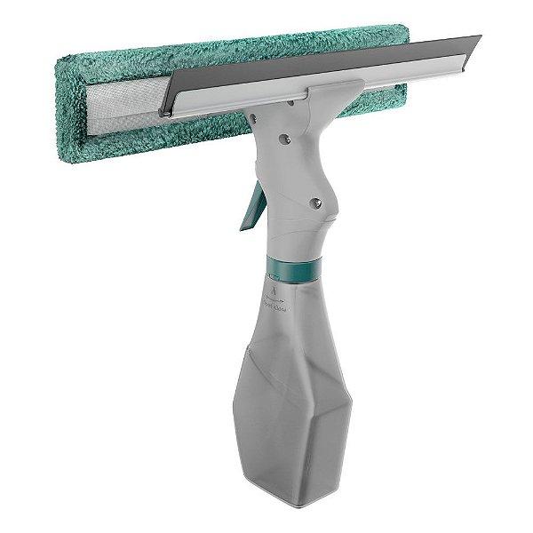 Limpa Vidros Spray Com Rodinho Emborrachado - Flash Limp