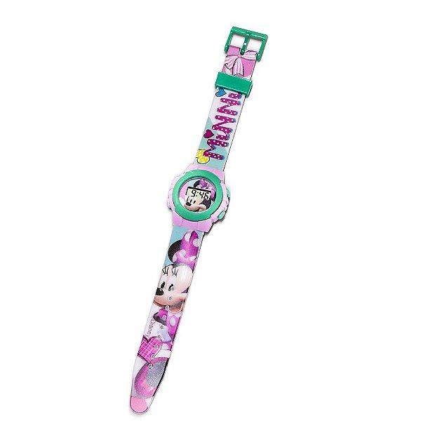 Relógio Digital Infatil Minnie - DTC