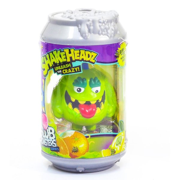 Boneco Shakeheadz Monstros Malucos - Verde - DTC