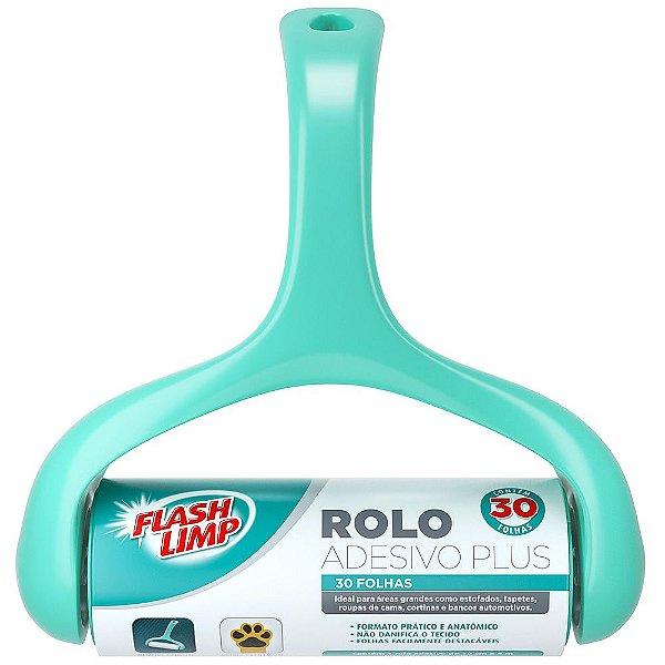 Rolo Adesivo Plus 30 Folhas - Flash Limp