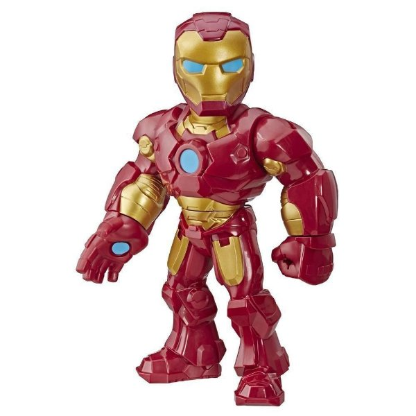 Boneco Mega Mighties Adventures - Homem de Ferro - Hasbro