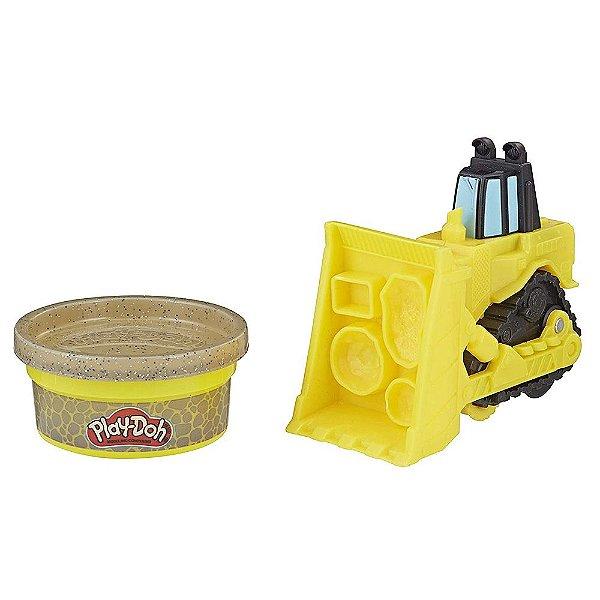 Play-Doh Wheels Mini Veículos - Trator de Esteira - Hasbro