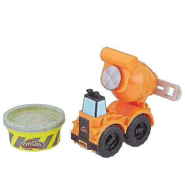 Play-Doh Wheels Mini Veículos - Caminhão Betoneira - Hasbro