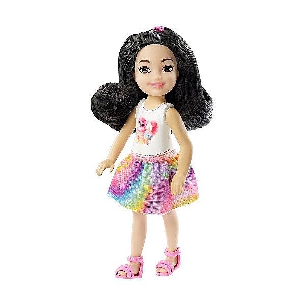 Boneca Barbie Club Chelsea - Cabelo Preto - Mattel