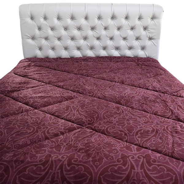Edredom Inove Flannel Touch Dupla Face Casal - Persa - Hedrons