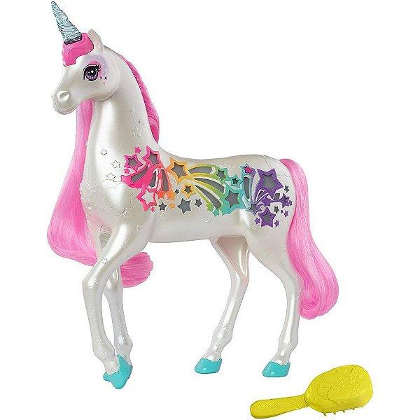 Barbie Dreamtopia Unicórnio Brilhante - Mattel