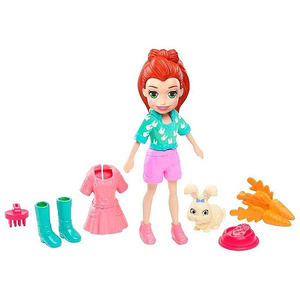 Polly Pocket - Lila e Seu Coelho - Mattel