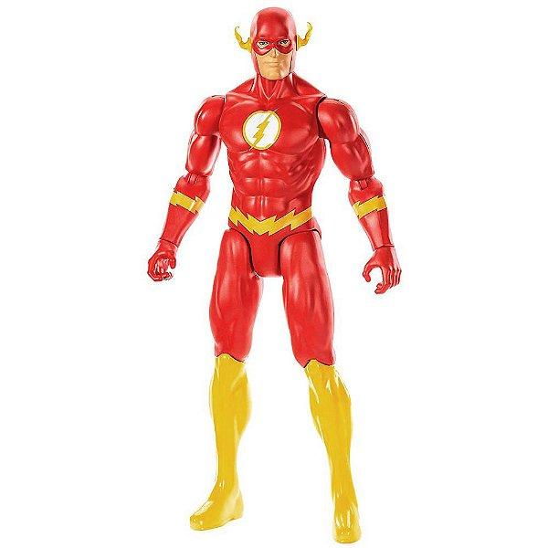 Boneco DC Liga da Justiça True Moves - Flash - Mattel