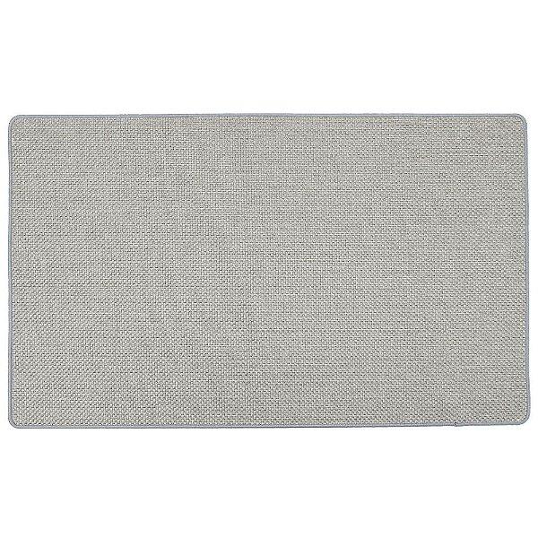 Tapete Easy 75cm x 45cm - Cinza Claro Texturizado - Via Star