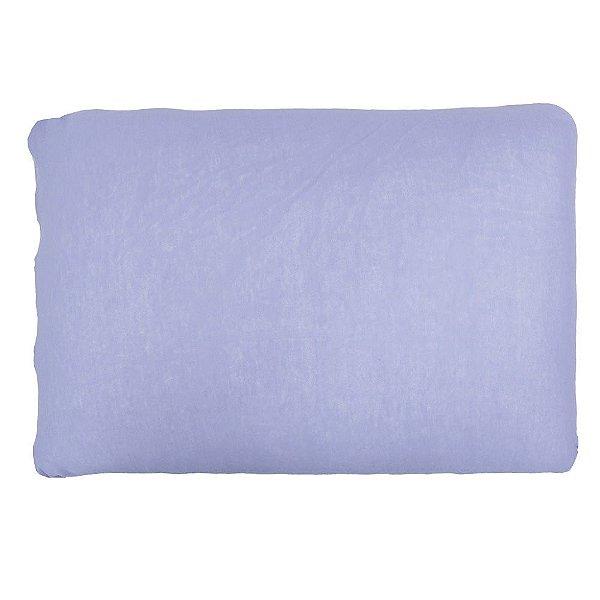 Capa Para Travesseiro Com Zíper - Lilás - SulBrasil
