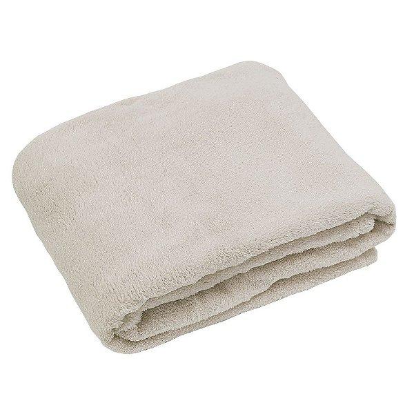 Cobertor Baby Liso 200g/m² - Bege - Camesa