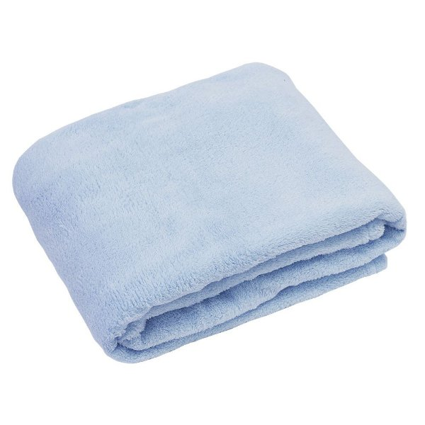 Cobertor Baby Liso 200g/m²- Azul - Camesa