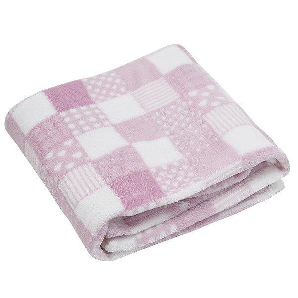 Cobertor Baby Microfibra 200g/m² - Rosa - Camesa