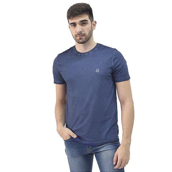 Camiseta Masculina Basic Tess Estonada - Azul - John John