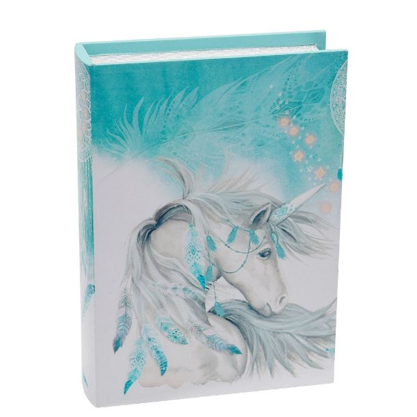 Livro Caixa Decorativa Média - Unicórnio - La Verne