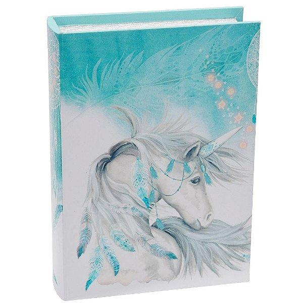 Livro Caixa Decorativa Grande - Unicórnio - La Verne