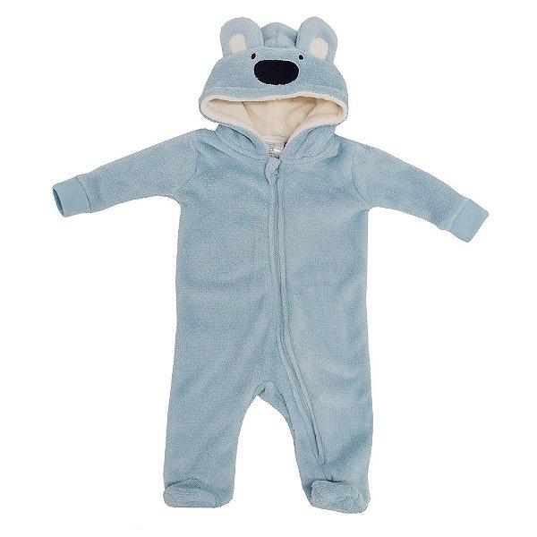 Pijama Fantasia de 3 a 6 meses - Ursinho - Camesa Baby