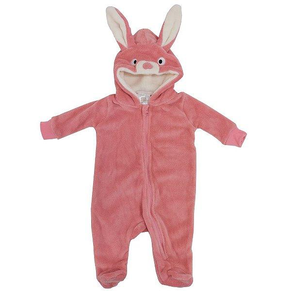 Pijama Fantasia de 3 a 6 meses - Coelhinho - Camesa Baby