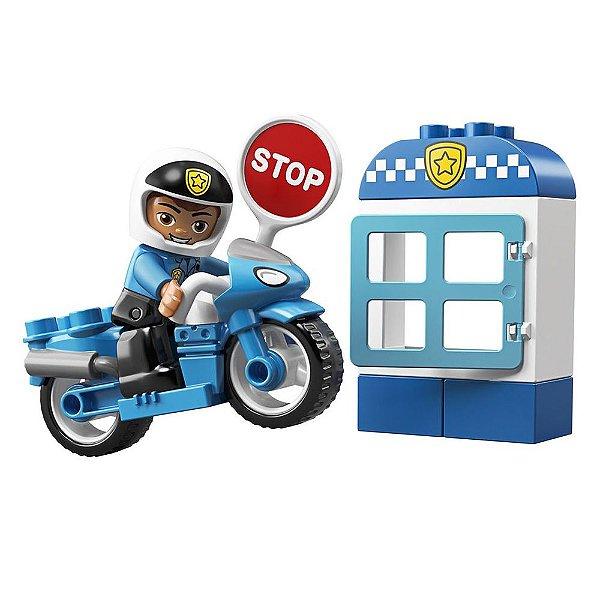 Lego Duplo - Motocicleta da Polícia - Lego
