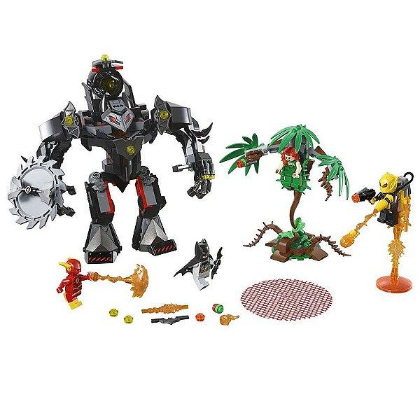 Confronto Batman e Flash Contra Hera Venenosa - 375 peças - Lego