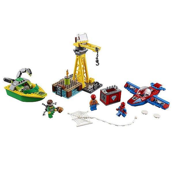 Lego Juniors Super Heroes Marvel - Homem-Aranha contra Doutor Octopus - Lego