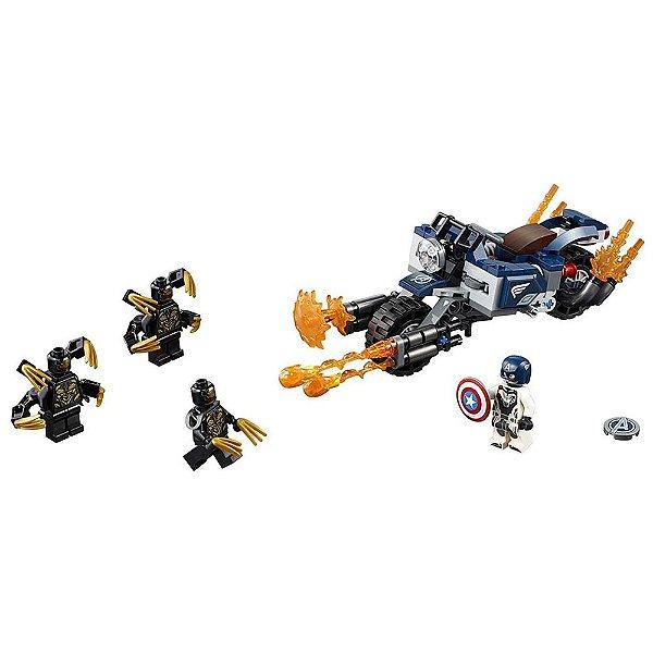 Lego Super Heroes Marvel - Capitão América: Ataque Outriders - Lego