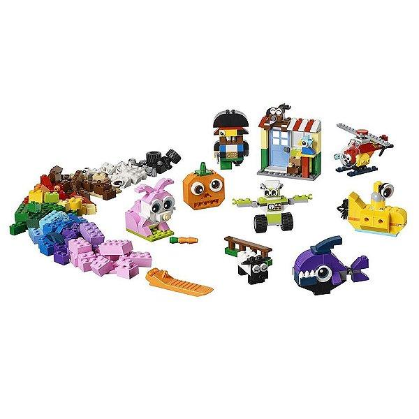 Lego Classic - Peças e Olhos - Lego