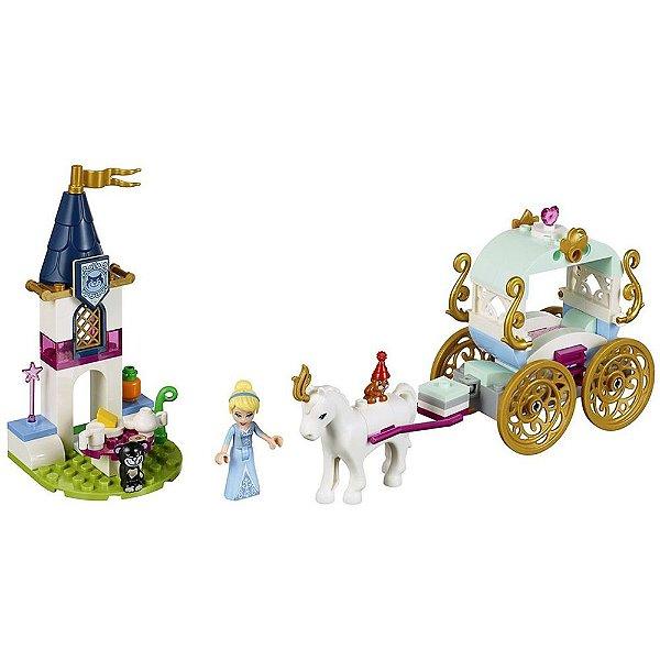 Lego Disney - Passeio de Carruagem da Cinderela - 91 peças - Lego