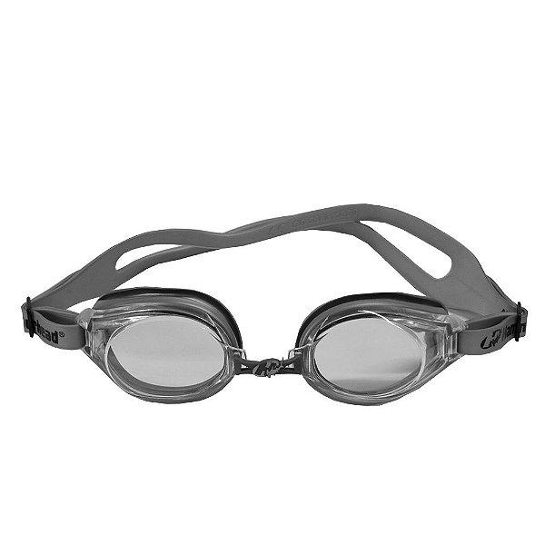 Óculos para Natação Atlanta 2.0 - Cinza e Lentes Transparentes - Hammerhead
