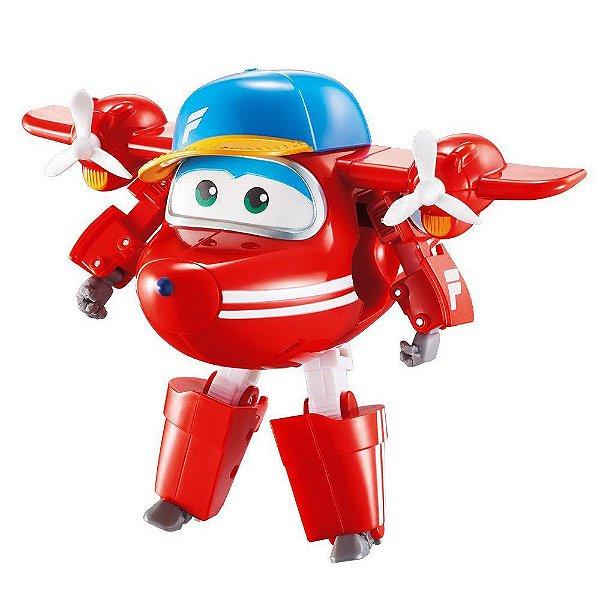 Super Wings Transforming Flip - Jett - Barão Toys