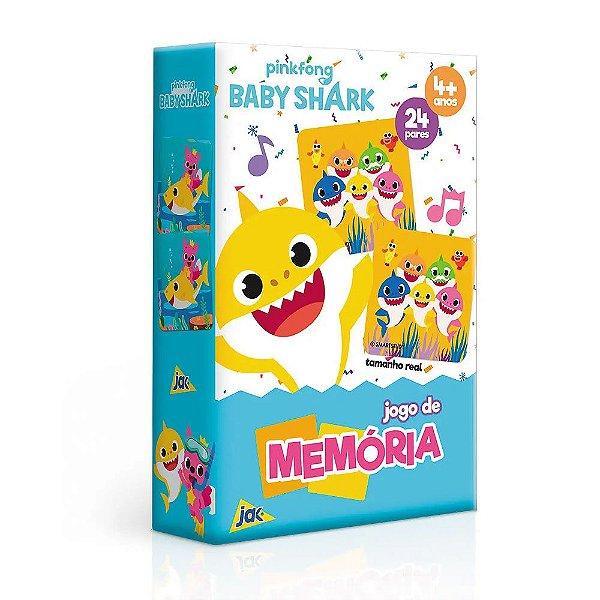 Jogo da Memória Baby Shark - 24 pares - Toyster