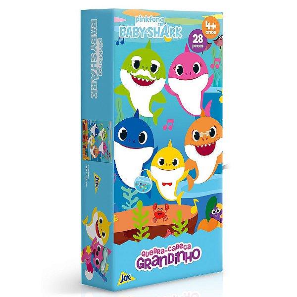 Quebra Cabeça Baby Shark - 28 peças - Toyster