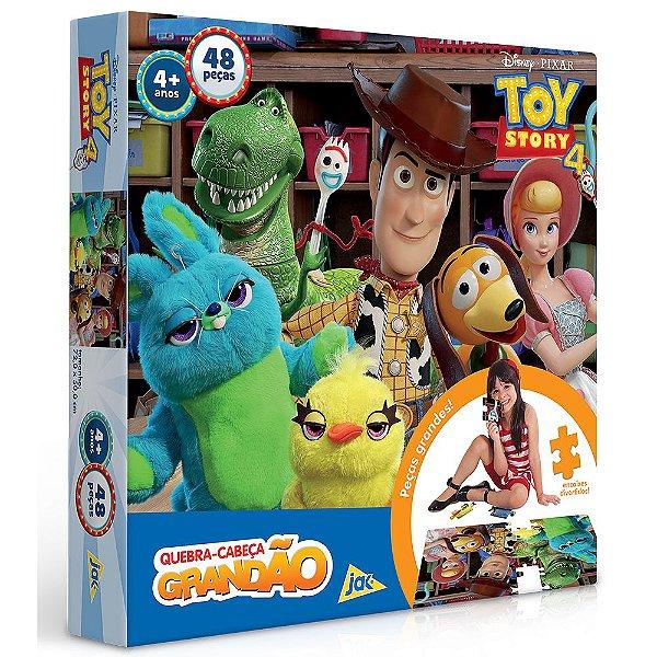 Quebra Cabeça Grandão Toy Story 4 - 48 peças - Toyster