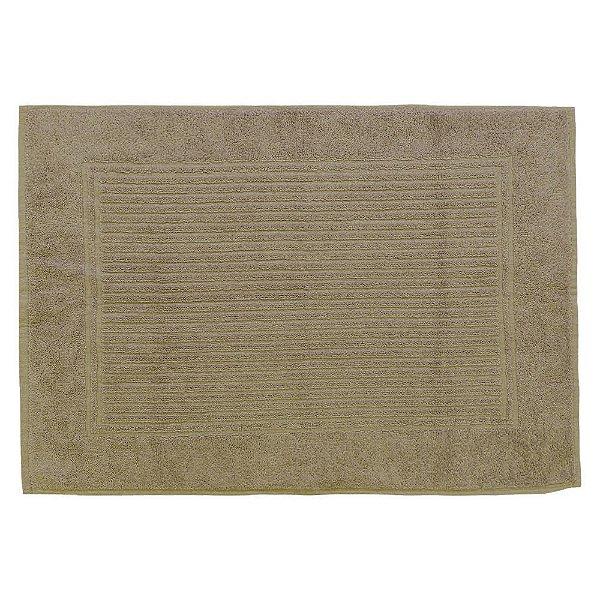 Toalha Piso para Pés - 48 x 70 cm - Marrom 1059 - Buddemeyer